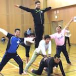 安全に配慮した力強い動きや組立体操 ②